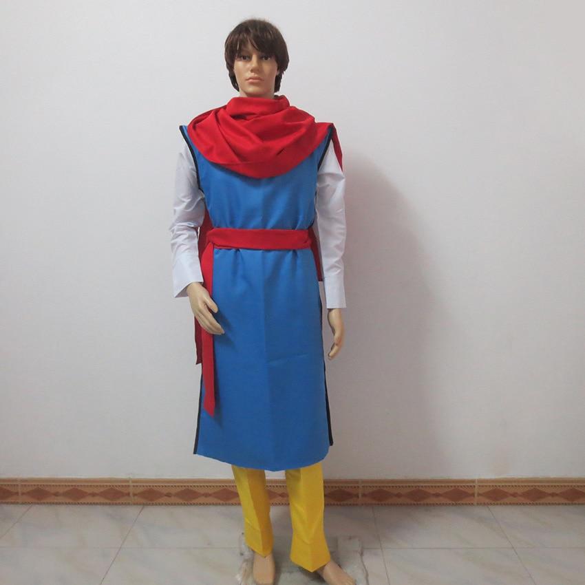 YuYu Hakusho Koenma Cosplay Costume Tailor made Any Size