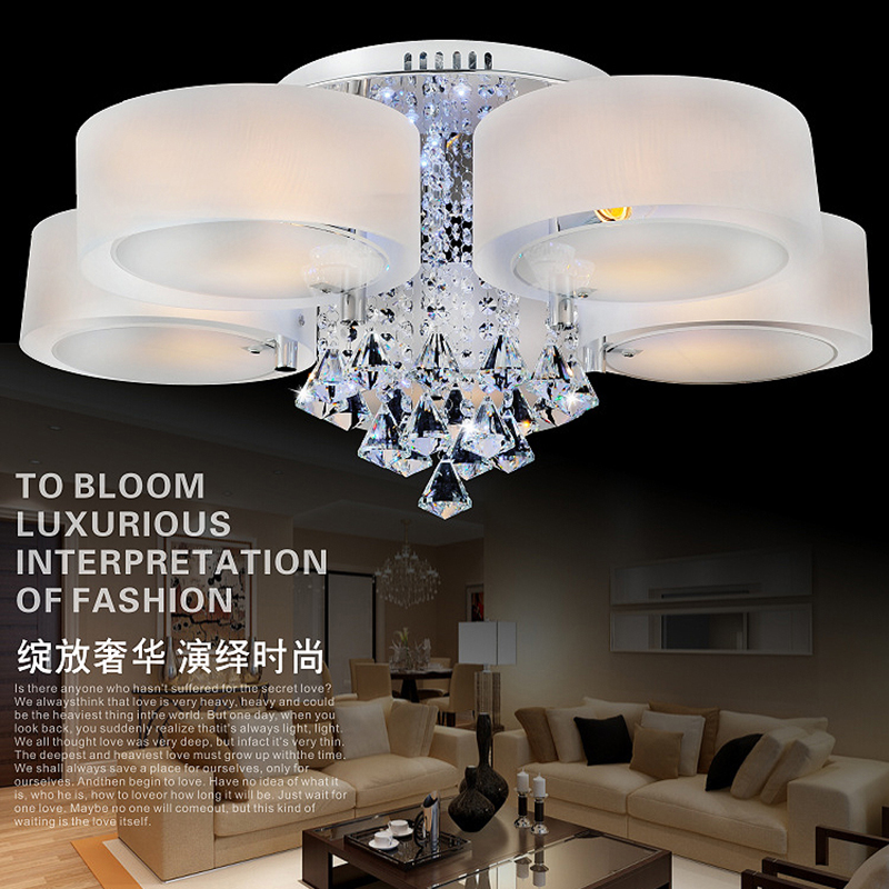 modern ceiling lights living room lamps bedroom acrylic