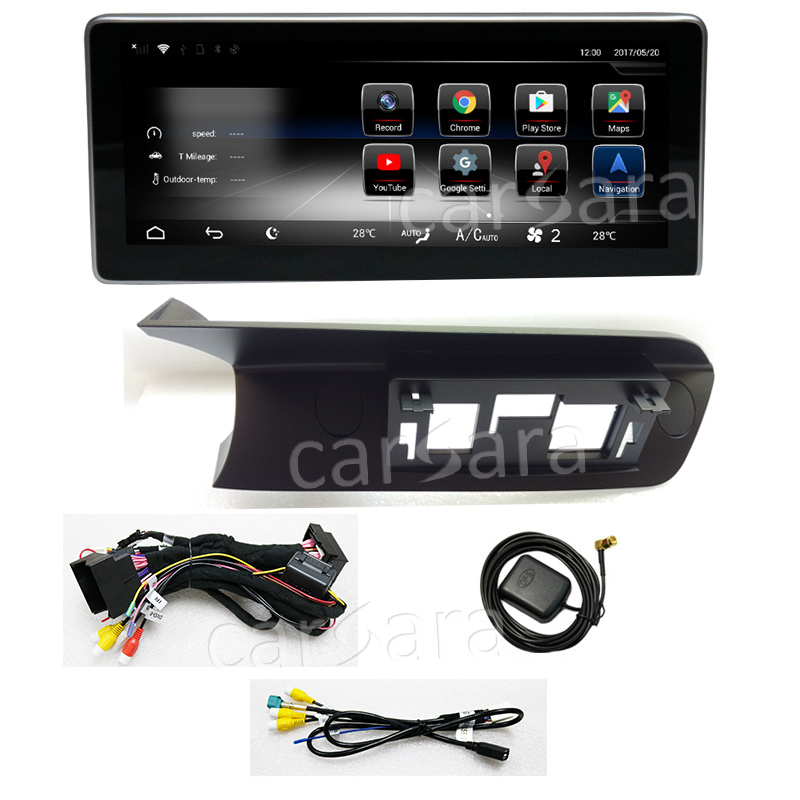 """Top 10.25"""" C Class W204 2011 to 2014 Ben z Android touch screen GPS Navigation monitor stereo dash radio multimedia player display 7"""