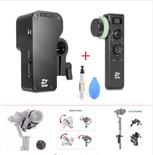 Zhiyun Crane 2 Servo Follow Focus,for all DSLR Cameras,Crane 2 2.4GHz Wireless Gimbal Controller with Motion Sensor Follow Focus стедикам zhiyun crane 2 v3 servo follow focus