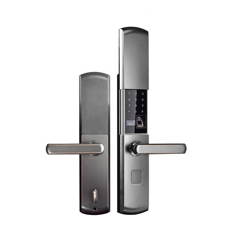 Smart Home Electronics Door Lock Large Indoor Security Door Lock Remote Control By Mobile APP Password Fingerprint Emergency Key
