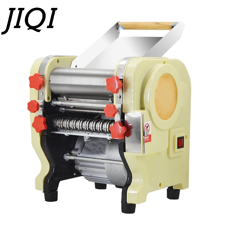 цены Electric noodles making pressing machine pasta maker noodle cutting machine dough roller commercial and home use 3 mm 9mm EU US