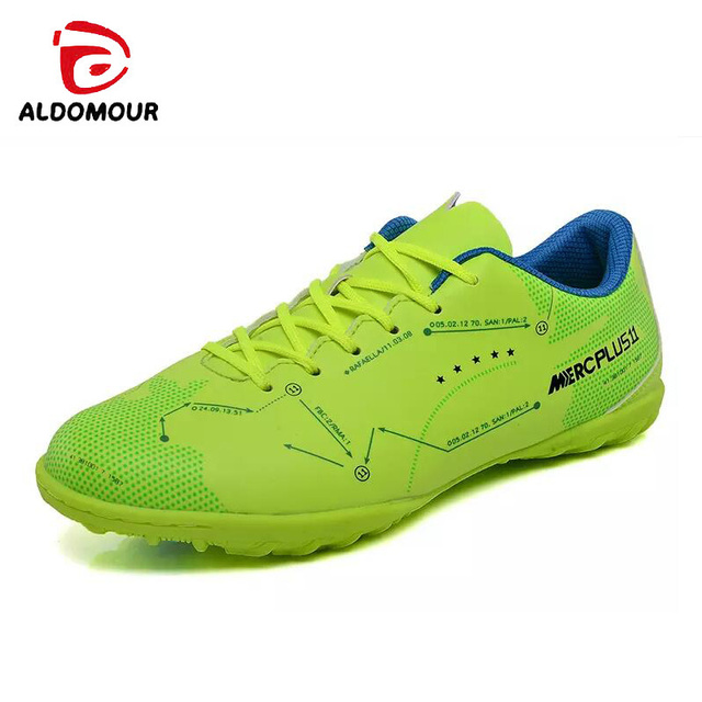 82f0aed34 ALDOMOUR Football Professional Soccer Football Shoes Men Women Outdoor Turf  Soccer Cleats Athletic Trainers Sneakers Boots Game