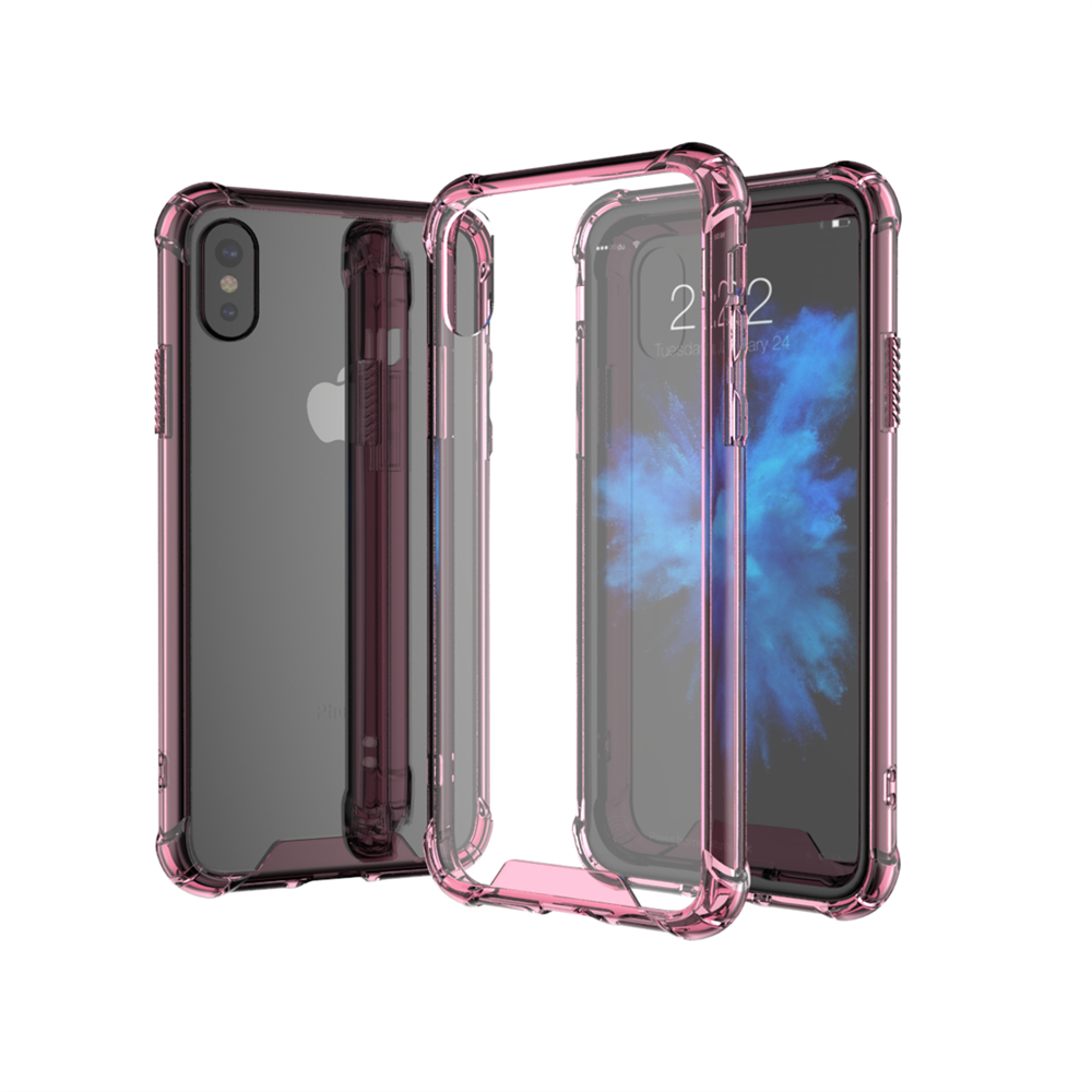 on sale 99c94 57038 US $1.99 |Super Anti knock Transparent Clear phone case For iPhone X Case  Ultra thin TPU Soft Fundas For iPhone 6 8 6s 7 5 Plus Back Capa-in Fitted  ...