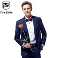 Fire Kirin Royal Blue Mens Suits Slim Fit Wedding Suits For Men Latest Coat Pant Designs Mens Business Suits High Quality Q322