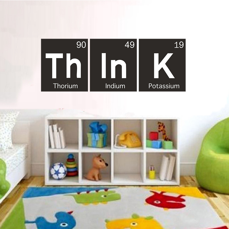 think science periodic table elements living room home school office vinyl art carving wall decal sticker