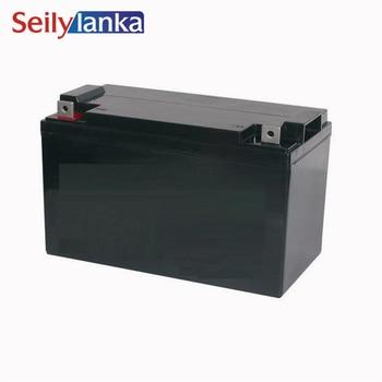 12V 100AH Battery Sealed Storage Batteries Lead Acid Rechargeable Solar maintenance free for Solar system  Garage Door