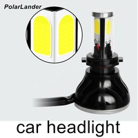 PolarLander one pair 880 881 H1 COB Led 24W Replacement 2400Lm Car Fog Headlight Driving Bulb Car Light Source new coming