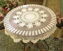 round lace tablecloth for wedding cover overlay for table crochet tablecloth fashion cutout table shirt