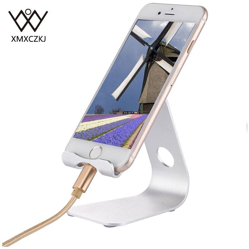 Smartphone Holder Aluminum Metal Desk Holder PC Tablet Mount