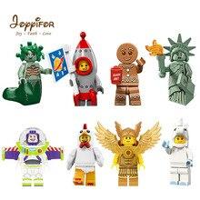Новая серия совместимых игрушек Storys Woody Buzz Lightyear статуя Liberty Rex Jessie Chen подарок детям