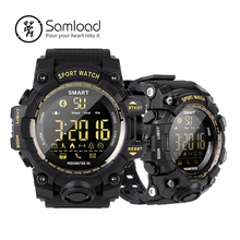 Samload watchs Inteligente Ao Ar Livre Adulto Aptidão Banda De Pulso Do Bluetooth Passometer Relógio Noctilucentes Para Apple iPhone7 8 Android Xiaomi