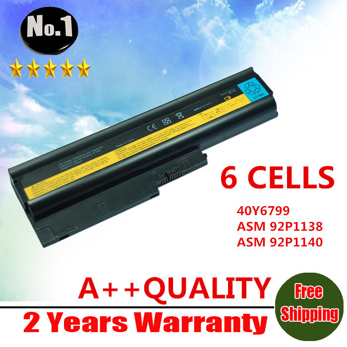 wholesale 6cells laptop battery for lenovo thinkpad t500. Black Bedroom Furniture Sets. Home Design Ideas