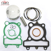70MM Standard STD FOR Yamaha xt225 1992 2000 Engine Cylinder kit Parts XT 225 Drilling Piston Ring pin chuck and top gasket set