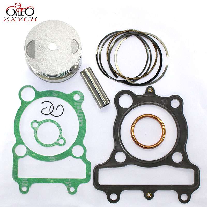 70MM Standard STD FOR Yamaha XT225 1992-2000 Engine Cylinder kit Parts XT 225 Drilling Piston Ring pin chuck and top gasket set цены