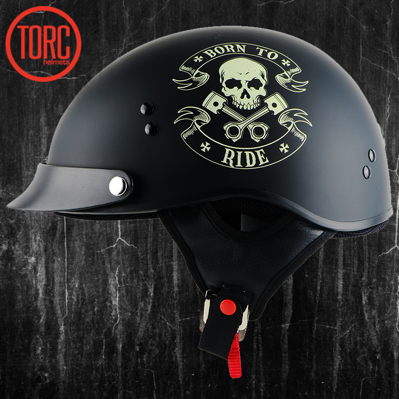 torc motorcycle helmet classic harley helemet vespa vintage summer half helmet jet retro. Black Bedroom Furniture Sets. Home Design Ideas