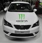 Hiqh Quality Customized Car Styling Adhesive Stickers Kawasaki Monster for Car Hood Personized Motorcycle Accessories Decals