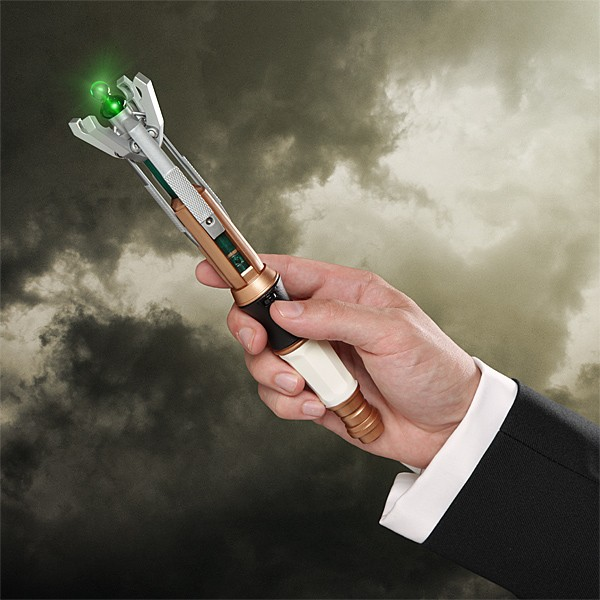 SONIC SCREWDRIVER 10TH DOCTOR WHO OFICIAL// DESTORNILLADOR SONICO LUCES Y SONIDO