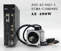ECMA-C10604RS+ASD-A2-0421-L ASDA-A2 AC servo motor driver kits 0.4kw 400W 3000rpm 1.27Nm 60mm frame