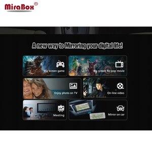 Image 3 - Mirabox 5G lusterko samochodowe link Box dla iOS12 z portami HDMI i CVBS (AV) lusterko samochodowe link Box dla androida wsparcie Youtube