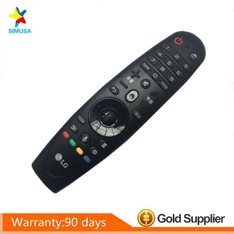 Télécommande originale de mouvement magique de AN-MR600 de AN-MR600G avec la roue de navigateur pour la TV intelligente de LG 3D