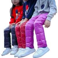 2017 çocuk Sıcak Pantolon Kış Kızlar/Çocuklar Için Erkek Artı Kadife Kalınlaşma Tayt Kalınlaşmak Pantolon Sıska Kız Tozluk