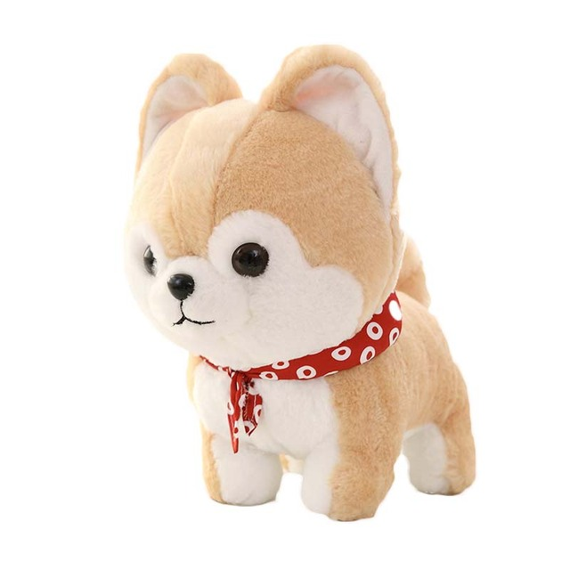 Pomeranian Pug Husky Chihuahua Dog Plush Toy Stuffed Animal 1pcs In