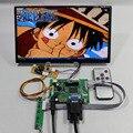 Placa Controladora lcd HDMI + VGA + 2AV + N101BCG-L21 1366*768 painel Lcd IPS de 10.1 polegadas