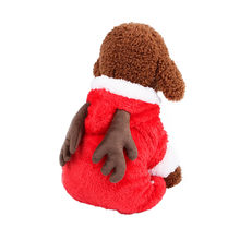 6c3b9a6f9cac (Ship from US) Pet Christmas Clothing Warm Winter Dog Clothes Brown Puppy  Dogs Jumpsuits Cute Deer Four Legs Clothes for Cats Pet Dog Costumes