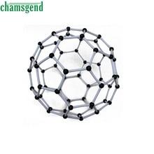 CHAMSGEND Modern Organic Chemistry Scientific Chemistry Carbon 60 C60 Atom Molecular Model Links Kit Set Mar30