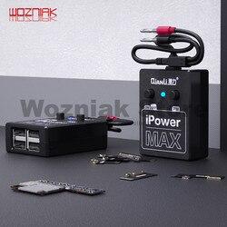 Cabo de teste ipowermax da fonte de alimentação de qianli para o iphone xs max x 8g x 7g 6 s 6sp 6g 6 p dc linha de teste do fio de controle de potência ipower