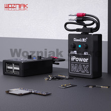 QIANLI כוח אספקת iPowerMAX מבחן כבל עבור iPhone XS מקסימום X 8G 8P X 7G 7P 6S 6SP 6G 6P DC כוח בקרת חוט מבחן קו iPower