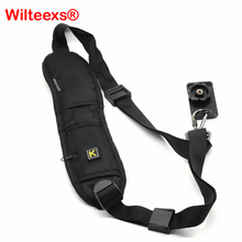 Camera Shoulder bag Single Shoulder Sling Black Strap Belt Sling Sponge Pad For Canon for Nikon for Sony DSLR Camera YE002-SZ+