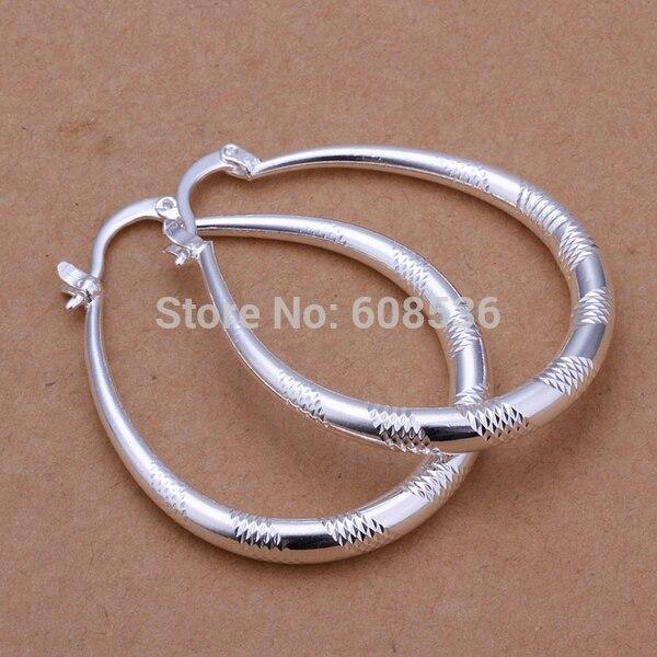 Plata Esterlina Oval Filigrana Cierre De Seguridad Hebilla 4 perlas-cuentas ~ 15 X 6mm
