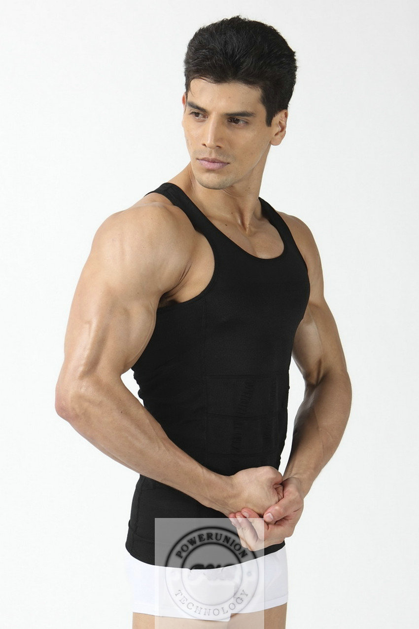 Free Shipping 50pcs Lot Slim N Lift For Men As Seen On Tv Body Shaping Man Undergarment Elimination Of Male Beer Belly In Shapers From Mens Clothing