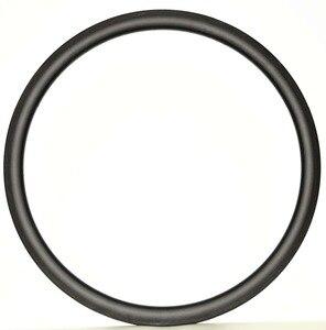 Image 2 - 700C 30/38/45/50/60/88mm tiefe 25mm Breite voll Carbon bike felgen Klammer/Rohr rennrad einzel Felge 3 karat/UD matte finish