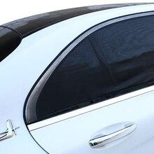 Dewtreetali Professional Adjustable Auto Car Side Rear Window Sun Shade Black Mesh Car Cover Visor Shield Sunshade UV Protection