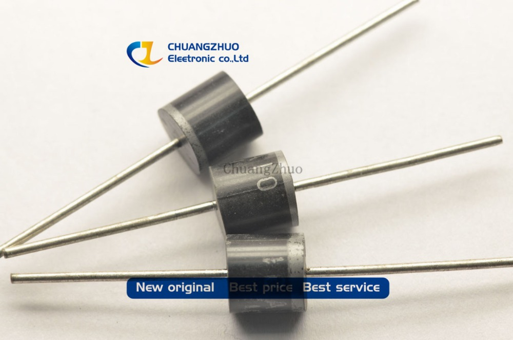 20PCS/Lot 10A10 10 Amp 1000V 10A 1000V Axial Rectifier Diode NEW