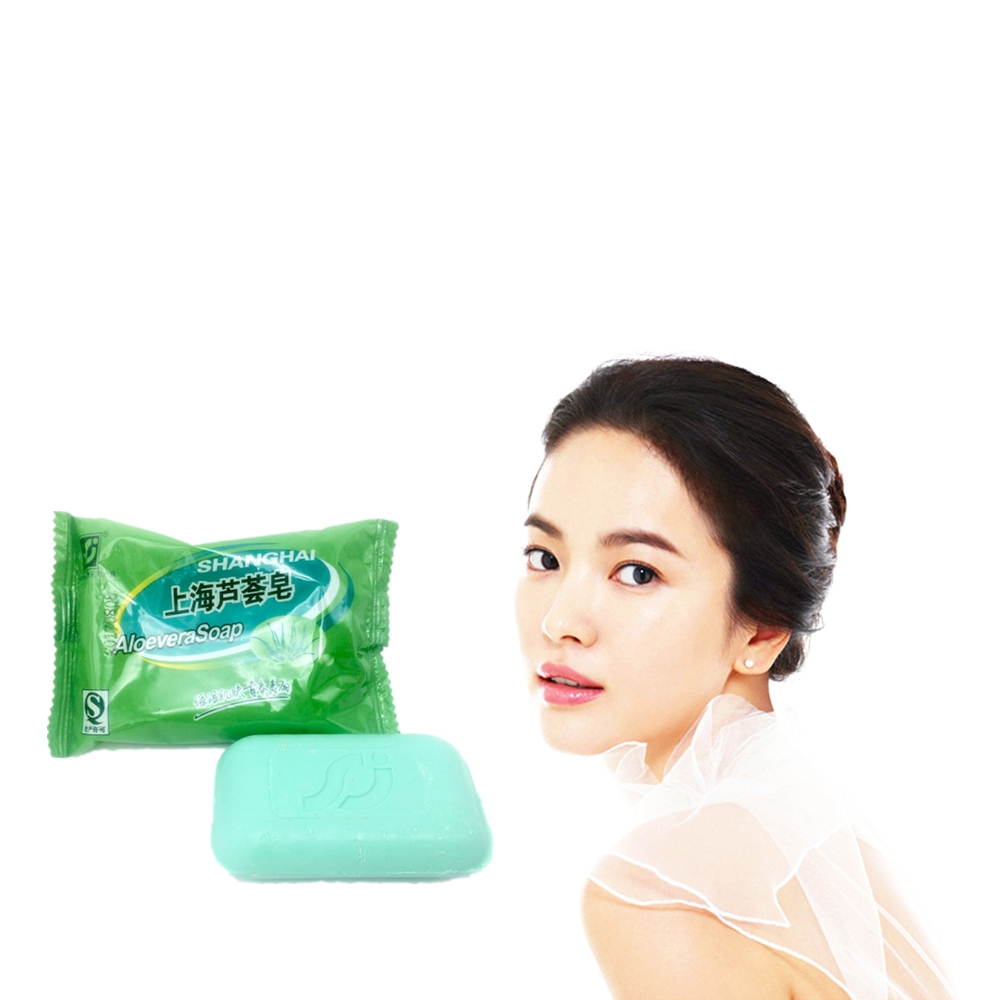 Chicken Skin Treament Repair Remove Dead Skin Goose Bumps Pimples Foliculitis Whole Body Whitening Handmade ALOEVERA Soap 85g