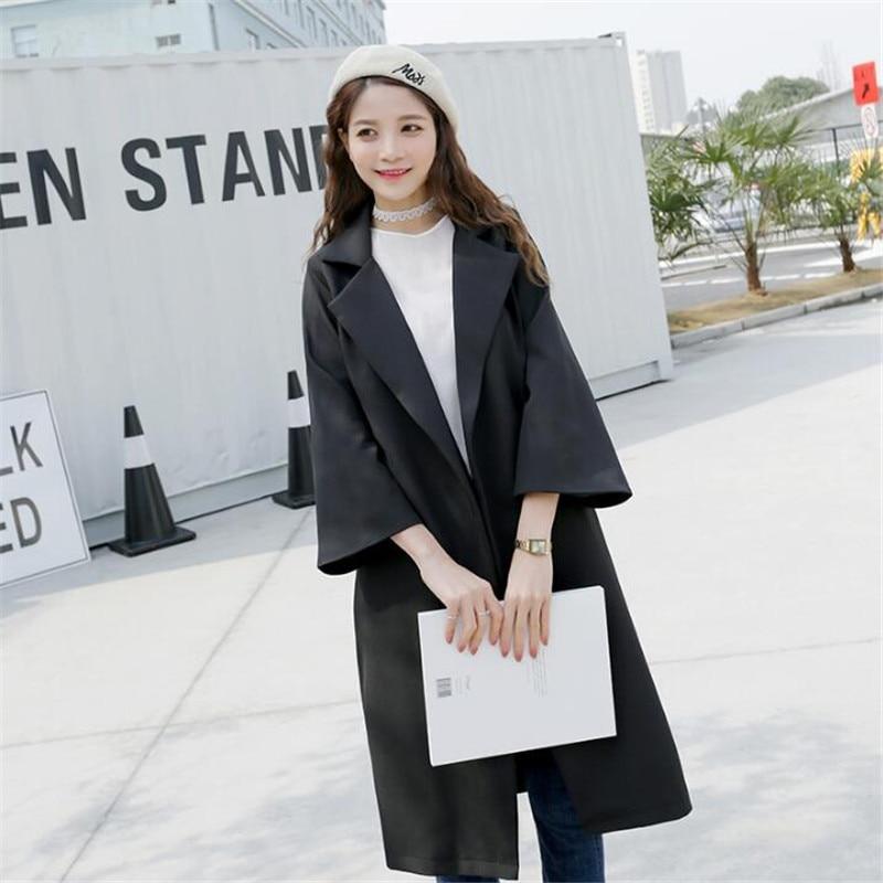 Khaki Plus De Outwear Mode Tranchée Femmes La Casual Pour Manteaux Vêtements Femelle Taille Ceinture Élégant Ma146 Manteau Mulheres Avec Para black Que zVpUMqSG