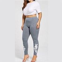 Plus Size Hot Sales Leggings Vrouwelijke Fitness Legging Big Size Hoge Elasticiteit Legins Basic Slanke Broek Potlood Broek voor Vrouwen