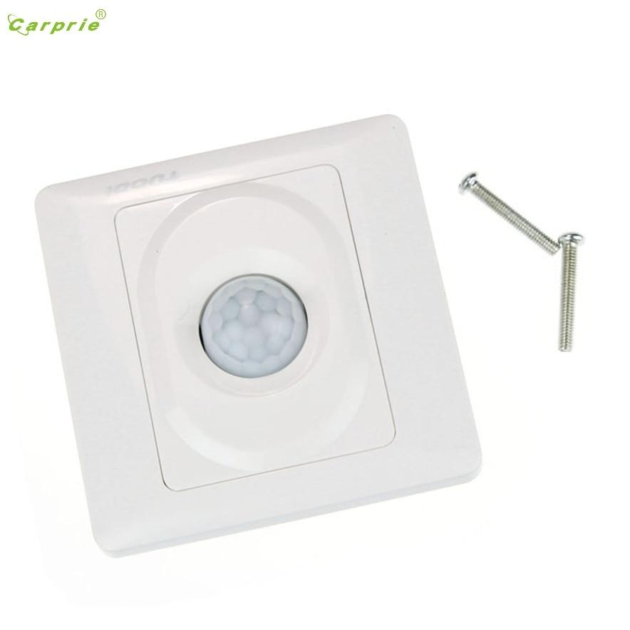 CARPRIE Wall Automatic DC 12V IR Infrared PIR Motion Sensor Switch For LED light L7120 DROP SHIP стоимость