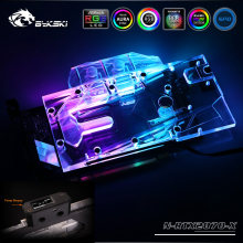 Bykski N-RTX2070-X Full Cover VGA Water Cooling Block LED Ligh for Reference NVIDIA GeForce RTX 2070 Founders Edition 8GB GDDR6(China)