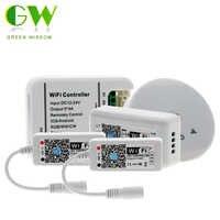 DC12V 24V MINI WIFI RGB/RGBW/RGB-WW-CW LED Streifen Controller Smartphone Und Timer Modus Magie Hause Mini wifi RGB Led Controller