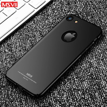 For Iphone 8 plus case MSVII luxury 360 Full protection body