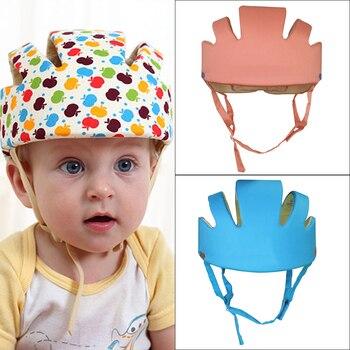 Baby Protective Helmet Boy Girls Anti-collision Safety Helmet Infant Toddler security & Protection Soft Hat for Walking Kids cap защитный детский шлем