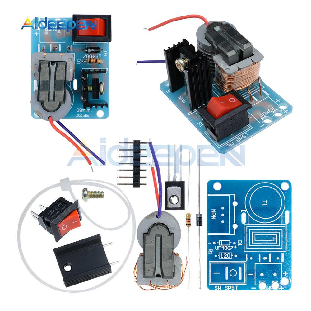 15kv high frequency dc high voltage arc ignition generator inverter  boost step-up 18650 diy
