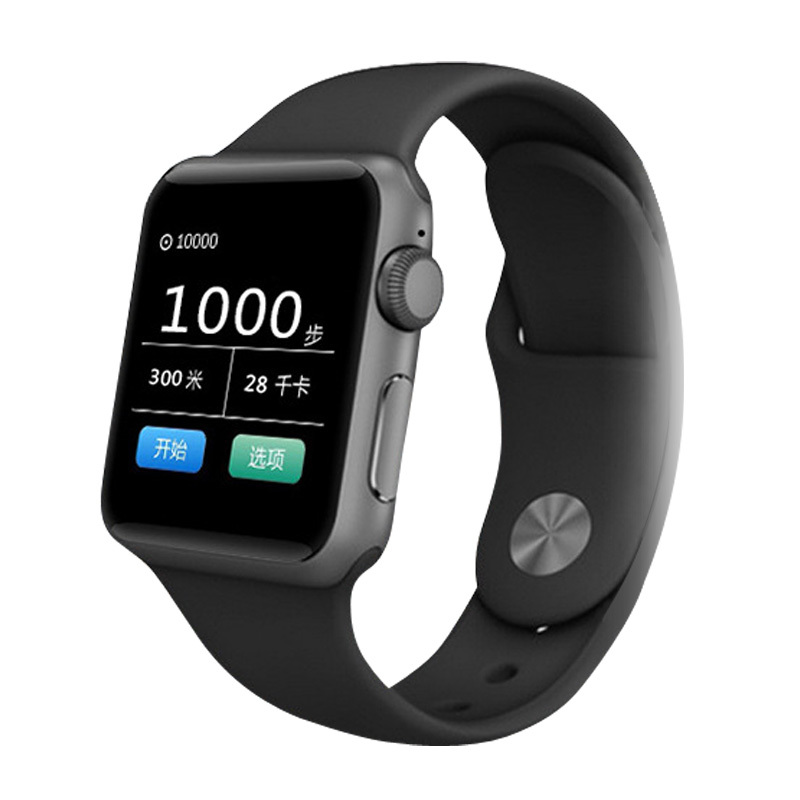 Smart bluetooth sim card watch telephone led voice lovers hand ring electronic watch