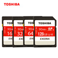Toshiba EXCERIA Memory Card Class10 UHS-I U3 SD Card 128gb 64gb 32gb SDHC/SDXC 90Mb/s Flash Memory Card for Samrtphone Camera