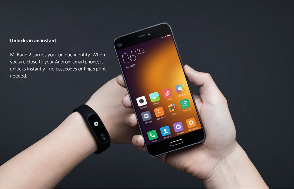 Xiaomi Mi Band 2 Miband 2 Smart Bracelet Wristband Band Fitness Tracker Bracelet Smartband Heart rate Monitor 100% Original (7)